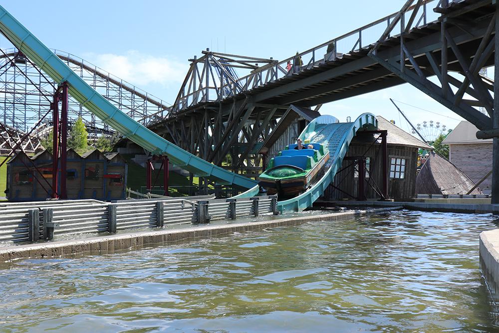 Interlink New Ride : Superflume Kwai River at Powerpark 7