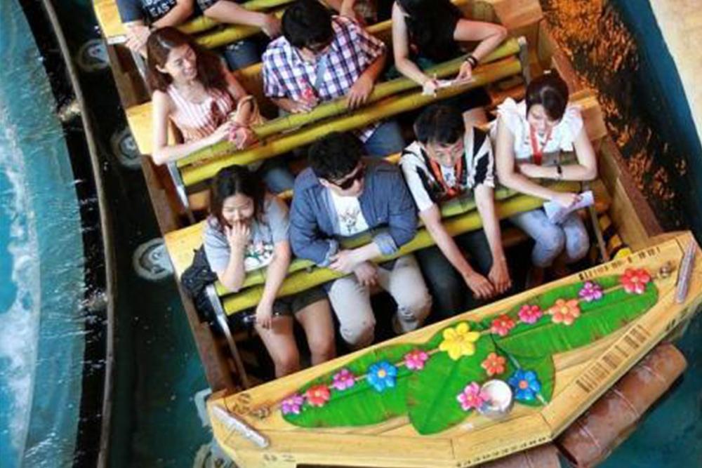 Interlink New Ride : Dark Ride A Crate Adventure at Universal Singapore 8
