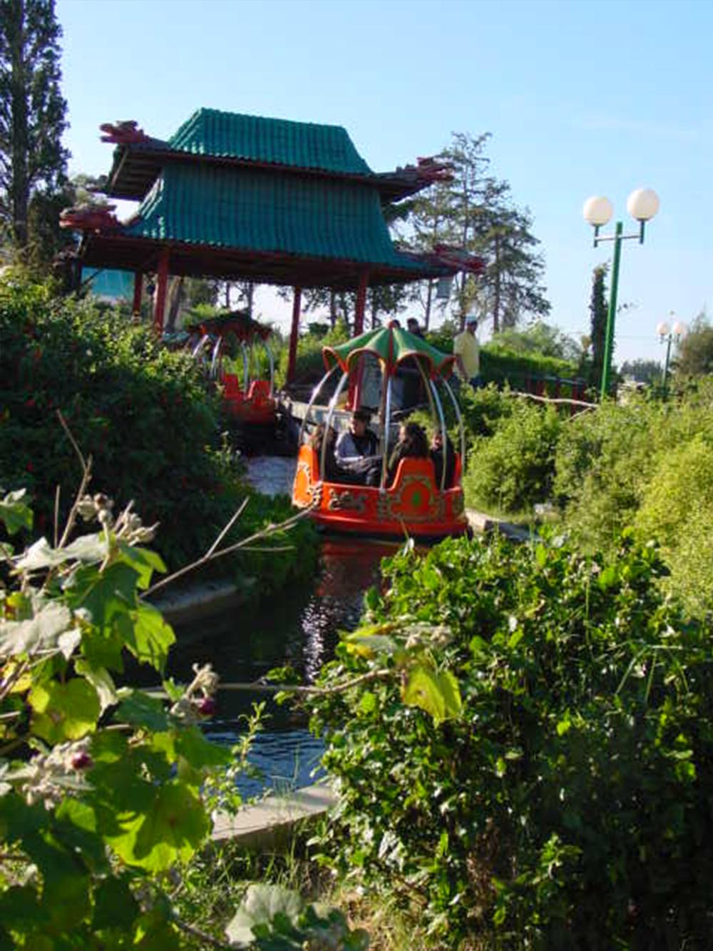 Interlink New Ride : Spin Boat La Riviere Enchantée at Hannibal Park Soukra 3