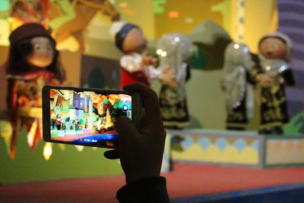 Interlink New Ride : Dark Ride Little Turkey at Wonderland Eurasia camera phone photo