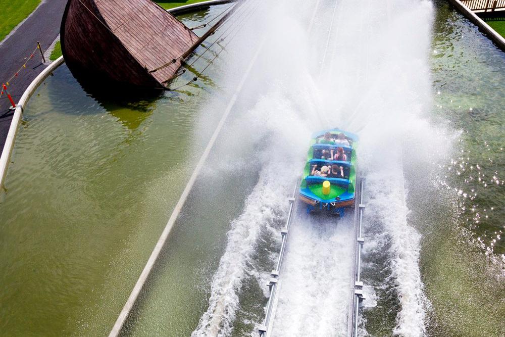 Interlink New Ride : Superflume Kwai River at Powerpark 6