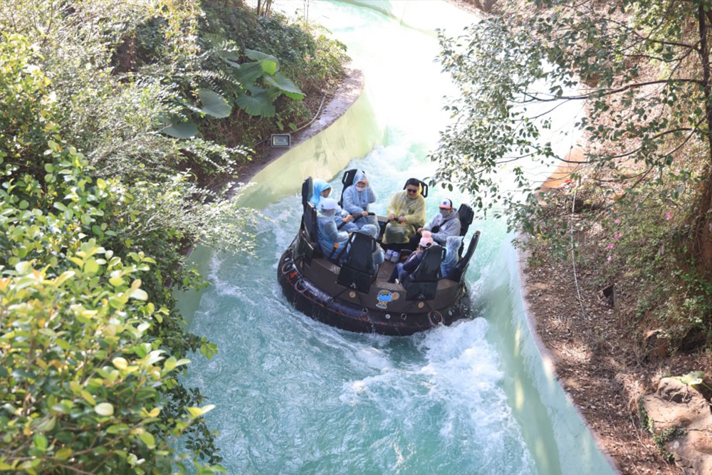 Interlink New Ride : Rapid River Jungle Rafting at Lihpao Land 5