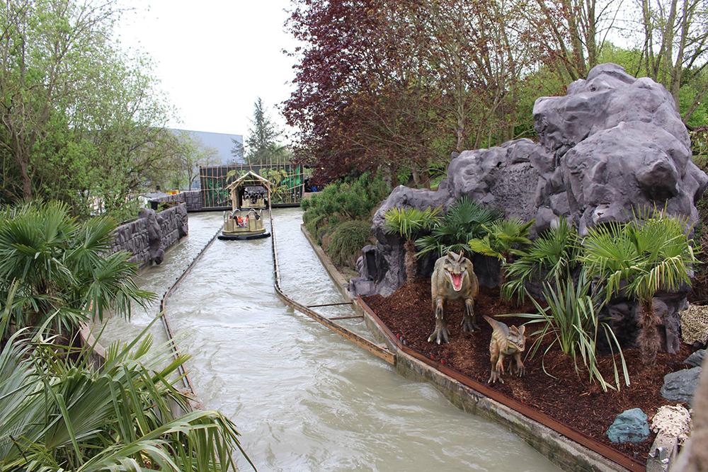 Interlink New Ride : Dino Raft at Walygator Park 13