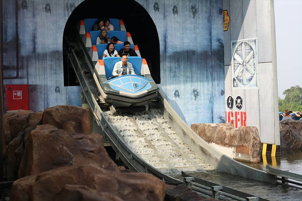 Interlink New Ride : Superflume Dino Action at Jawa Timur Park 3