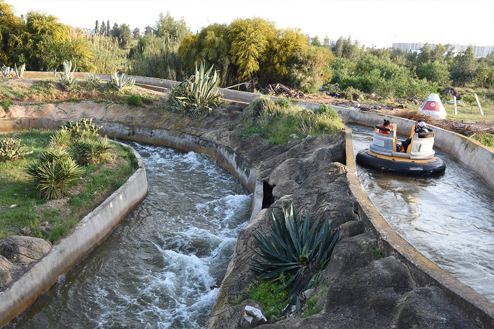 Interlink New Ride : Rapid River at Hannibal Park Soukra Tunisia 3