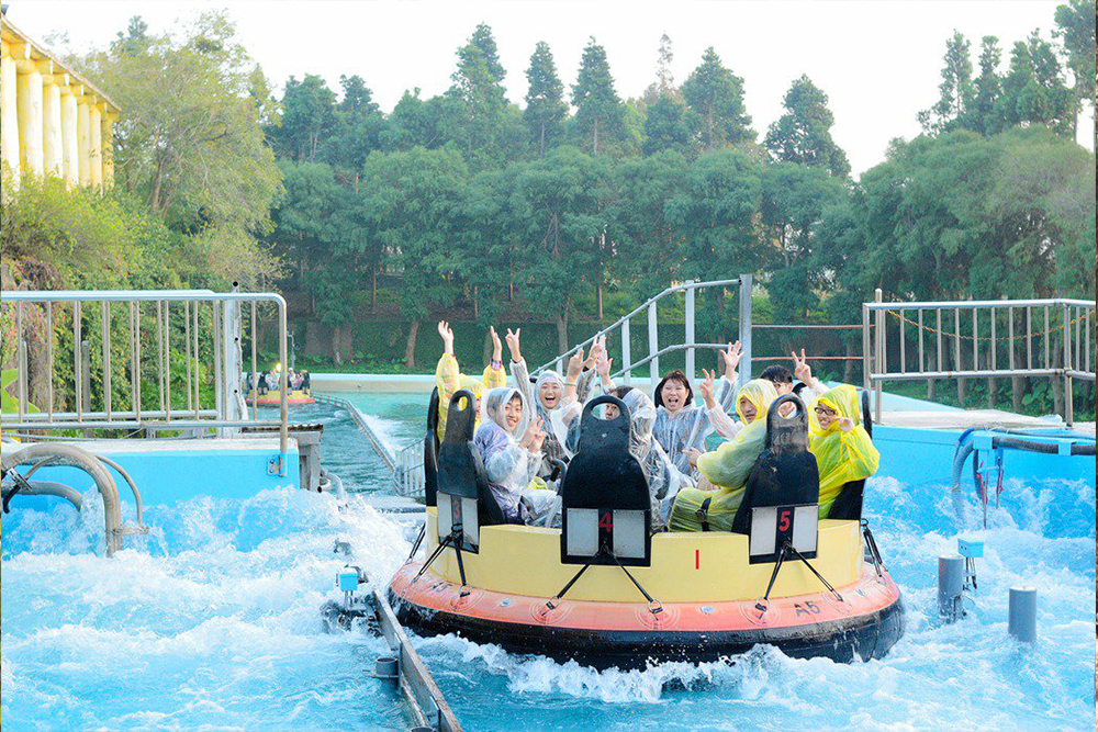 Interlink New Ride : Rapid River Jungle Rafting at Lihpao Land 4