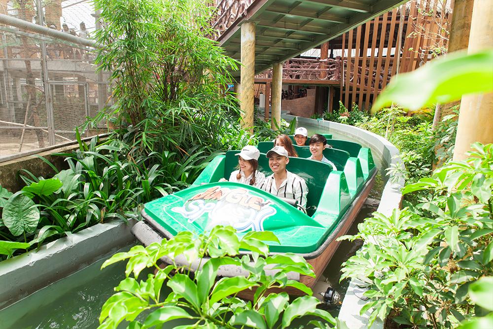 Interlink New Ride : Superflume Safari Jungle Splash at BaoSon