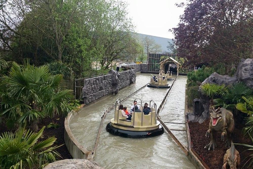 Interlink New Ride : Dino Raft at Walygator Park 12