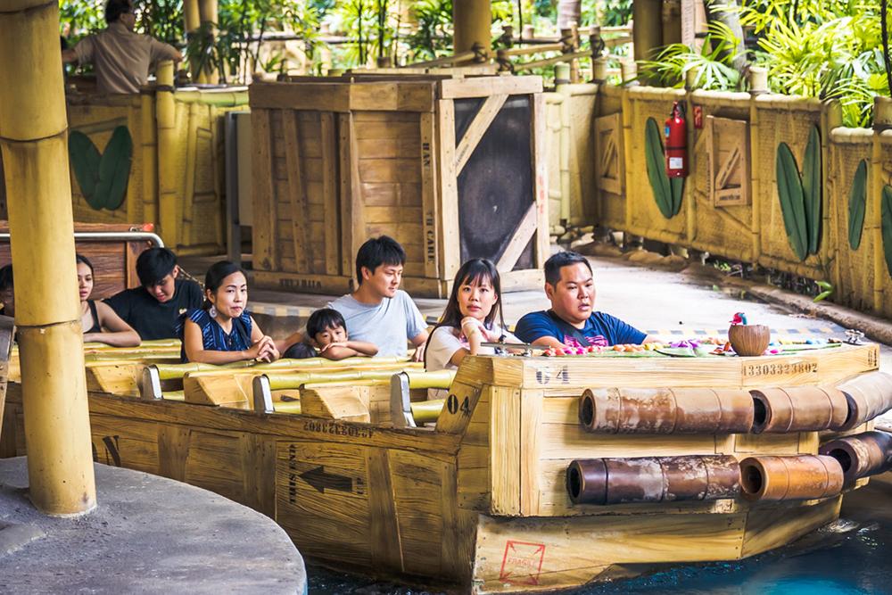 Interlink New Ride : Dark Ride A Crate Adventure at Universal Singapore 6