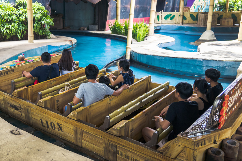 Interlink New Ride : Dark Ride A Crate Adventure at Universal Singapore 5