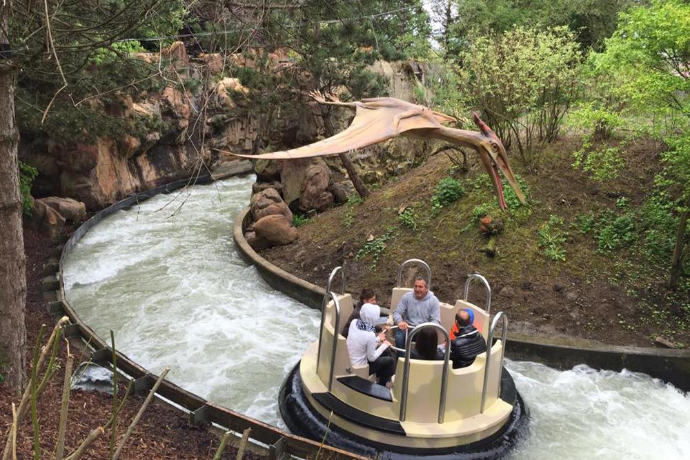 Interlink New Ride : Dino Raft at Walygator Park 10