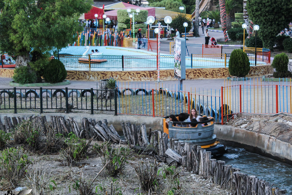 Interlink New Ride : Rapid River at Hannibal Park Soukra Tunisia