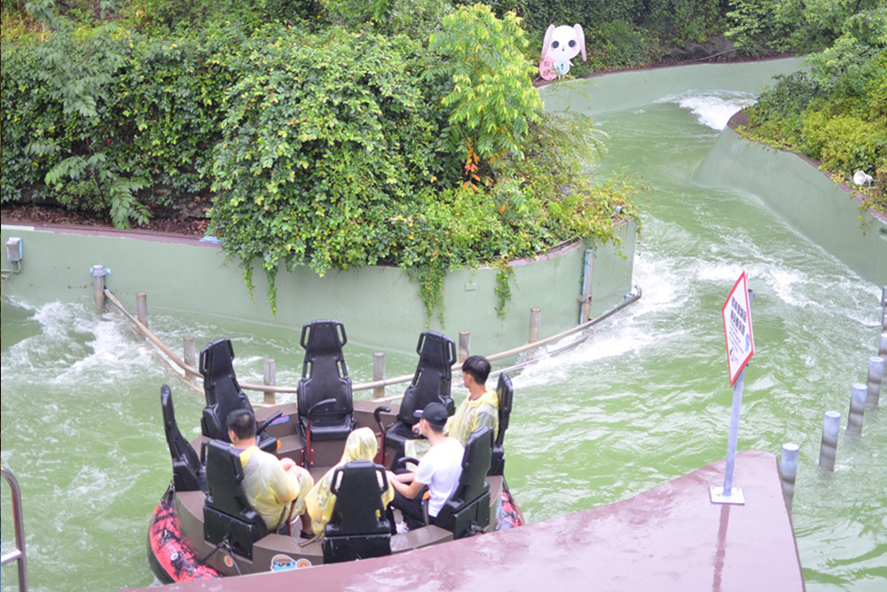 Interlink New Ride : Rapid River Jungle Rafting at Lihpao Land 2