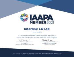 Certificate 2021 IAAPA_Member